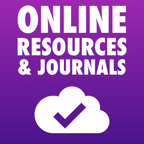 Click to go to the online resources and journals page