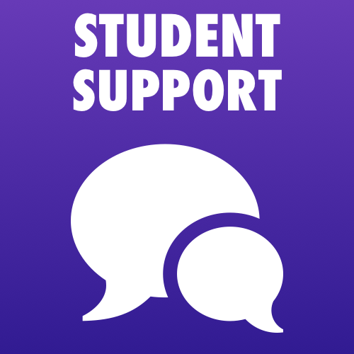 Click to go to the Student Support page